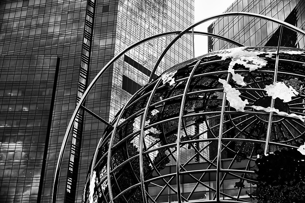 The world of New York by MarkStuttard