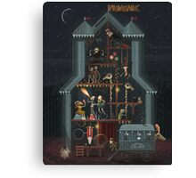 Midnight Carnival (Spooky October Edition) Canvas Print