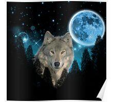 Wolf StarLight Poster
