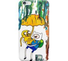 Adventure Time Rain Paint iPhone Case/Skin