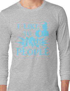 I Like To Flash People Funny Photographer Long Sleeve T-Shirt