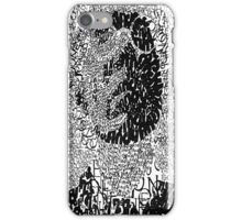 Andy Warhol Typographic Art iPhone Case/Skin