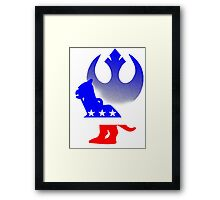 Rebel Patriot  Framed Print