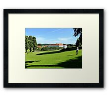 Where a lonely widow died Framed Print