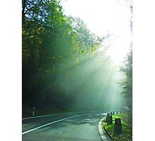 Into the light. Photographic Print