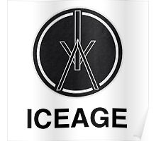 ICEAGE band logo Poster