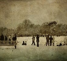 A Stroll in the Park by Simone Riley