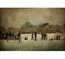 A Stroll in the Park Photographic Print