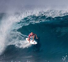 Kelly Slater At O'Neill World Cup of Surfing 06 .2 by Alex Preiss
