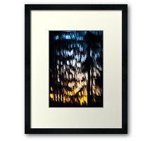 A Waterfall of Light Framed Print