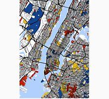 New York Mondrian map Unisex T-Shirt