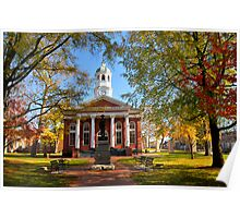 Leesburg Courthouse Poster