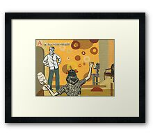 Adult Alphabet: The Letter A Framed Print