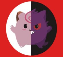 Clefairy and Gengar, unofficial Pokemon relationship! by wss3