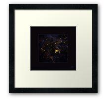 little universe Framed Print