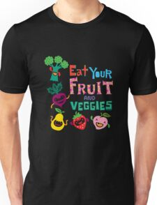 Eat your Fruit and Veggies - beige Unisex T-Shirt