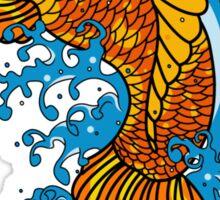 Koi Goldfish Sticker