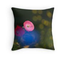 Poppy Imagination Throw Pillow