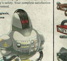 Atomic Ads - SOVEREIGN Domestic Autonomous Nuclear Assistant Sticker