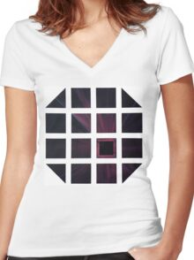 Desolate Madness Women's Fitted V-Neck T-Shirt