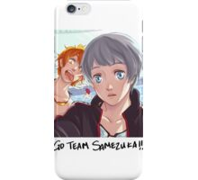 Go Team Samezuka! iPhone Case/Skin