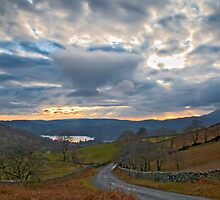 Windermere from Kirkstone Pass by Michelle Lovegrove