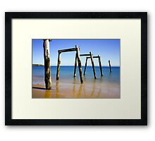 Cat Bay Structure Framed Print