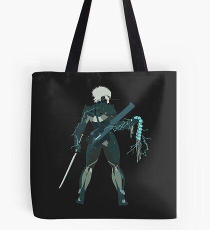 Raiden Vector Art - Metal Gear Solid/Rising Tote Bag