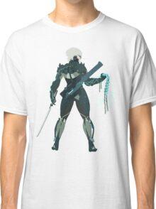 Raiden Vector Art - Metal Gear Solid/Rising Classic T-Shirt