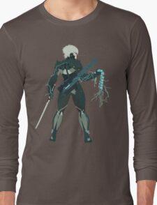 Raiden Vector Art - Metal Gear Solid/Rising Long Sleeve T-Shirt
