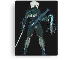 Raiden Vector Art - Metal Gear Solid/Rising Canvas Print
