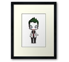 Chibi Joker  Framed Print