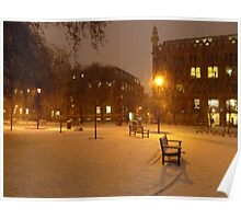 Park Square - 7AM Poster