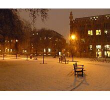 Park Square - 7AM Photographic Print