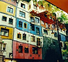 ARCHITECTURE ~ Hundertwasserhaus in Vienna by tasmanianartist by tasmanianartist