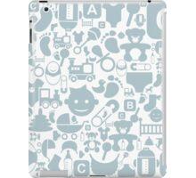 Baby a background iPad Case/Skin
