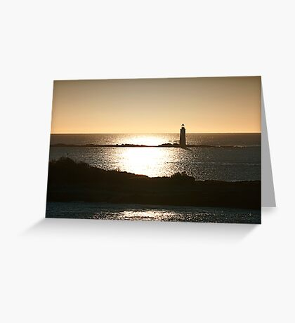 Portland lighthouse Greeting Card