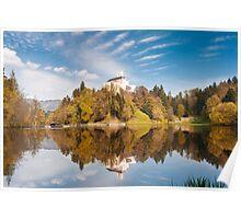 Trakoshchan castle. Mirrored legend Poster