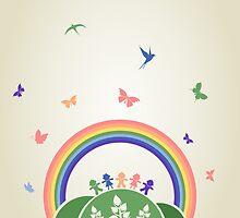 Children rainbow by Aleksander1