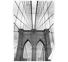 Brooklyn Bridge - New York City Poster