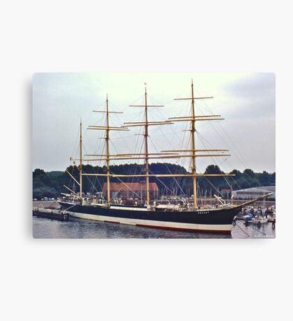 Barque Passat in Travemünde Canvas Print