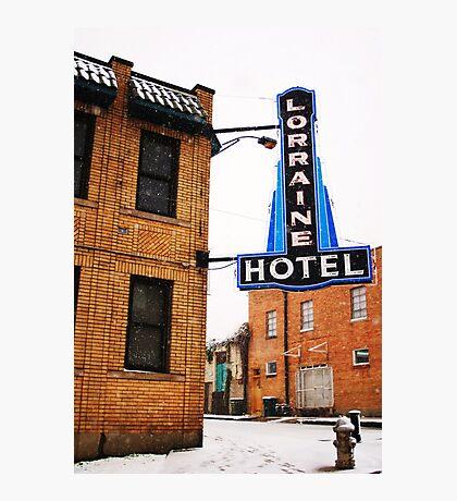 lorraine hotel Photographic Print