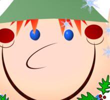 Head Elf Sticker