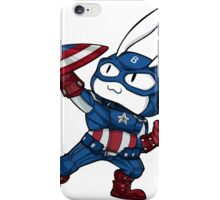 Captain Bunmerica iPhone Case/Skin