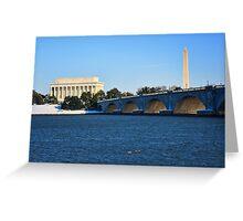 Winter in Washington Greeting Card