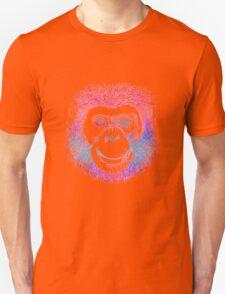 Chimpanzee Monkey Psychedelic T-Shirt