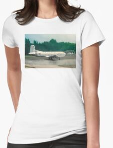 Douglas C-124A Globemaster II 50-1257 Womens Fitted T-Shirt
