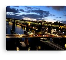 Bridges Canvas Print