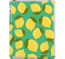 Vintage lemons iPad Case/Skin