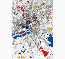 Philadelphia Mondrian map Unisex T-Shirt
